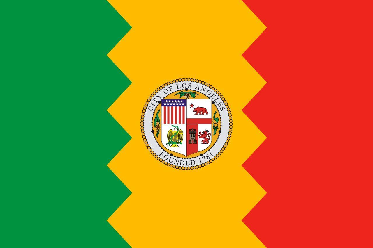 Los Angeles Flag
