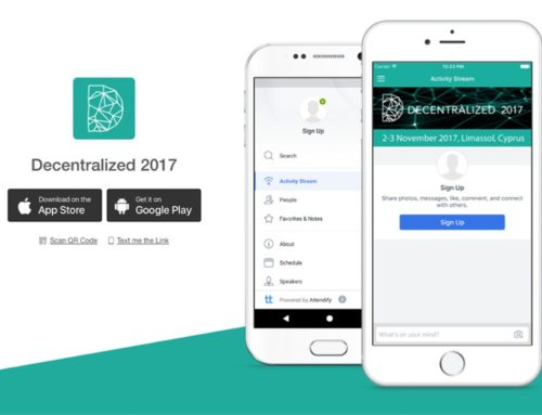 Decentralized 2017 Mobile App