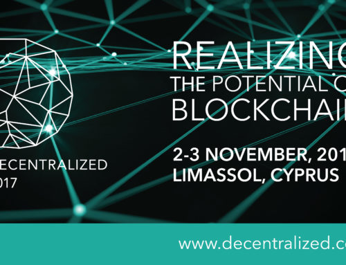 Decentralized 2017 – General Registration for Pioneering Blockchain Summit is Now Open