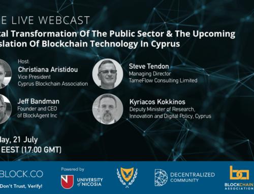 Blockchain in the Public Sector – Block.co Webcast