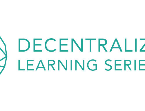 Announcing Decentralized Learning Series 2020 – 2021
