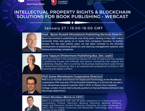 Intellectual Property Rights & Blockchain Solutions For Book Publishing