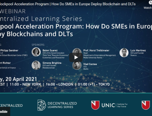 DLS | Blockpool Acceleration Program | How Do SMEs in Europe Deploy Blockchain and DLTs